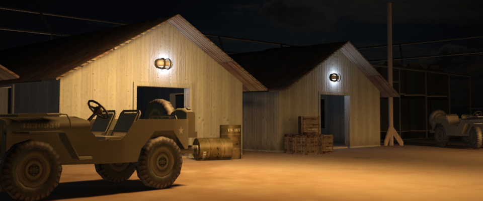 3ds Max Lighting Night