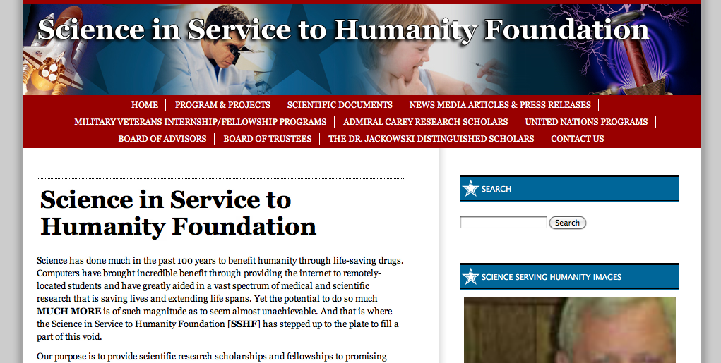 http://scienceservinghumanity.us/