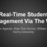Real-Time Student Engagement Via The Web – Villanova University