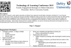 MCCC Technology and Learning Conference – 2013
